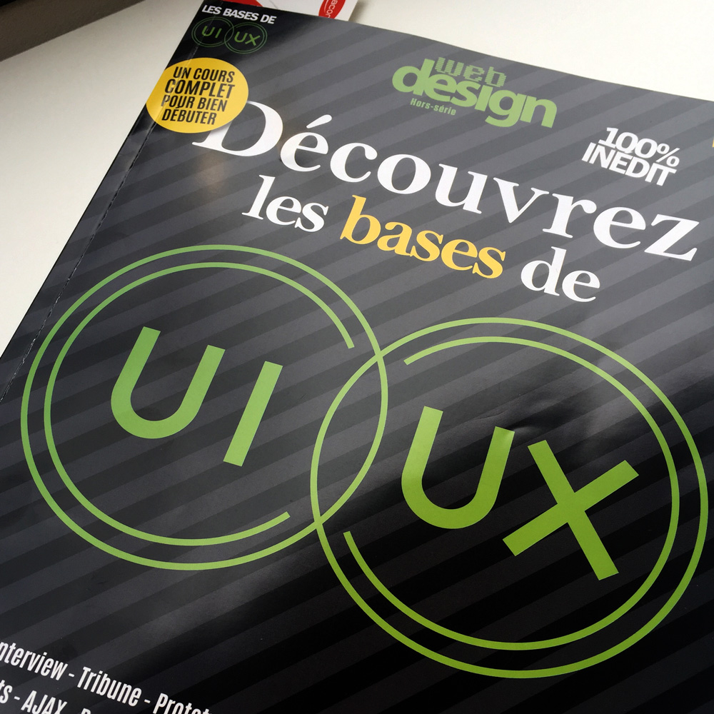 Publication magazine Webdesign - Offensive Studio