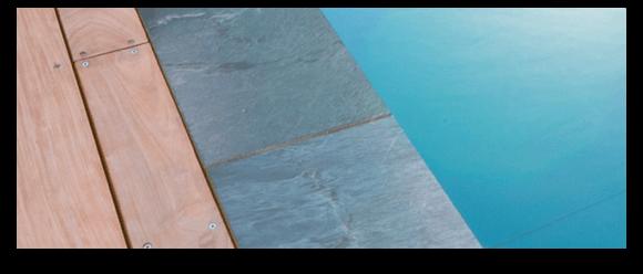 Bannière aquitaine piscine finitions