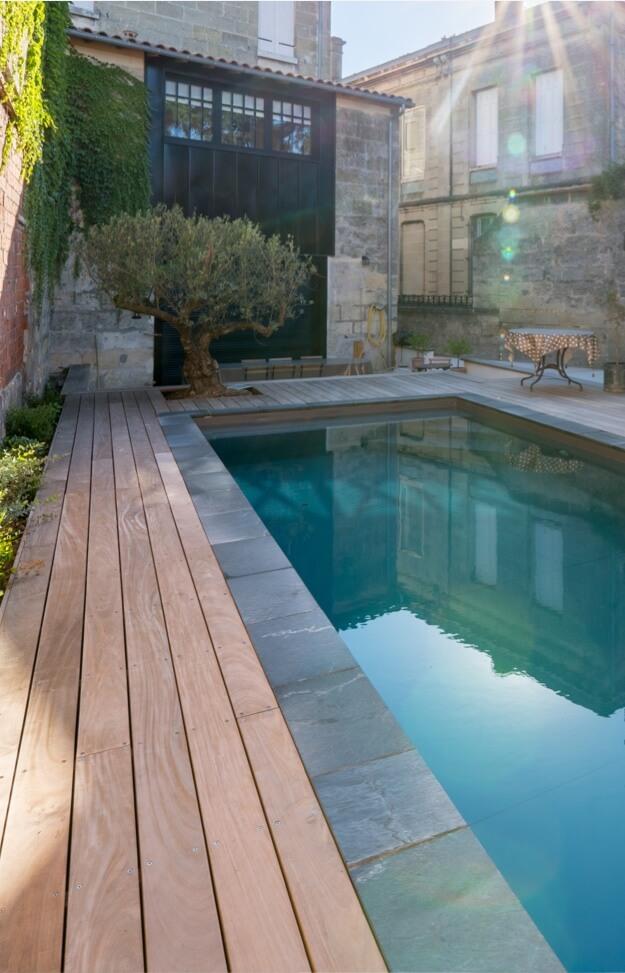 aquitaine piscine finitions - site responsive