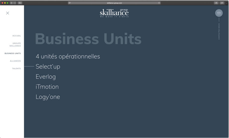 Groupe skilliance - site internet responsive 2