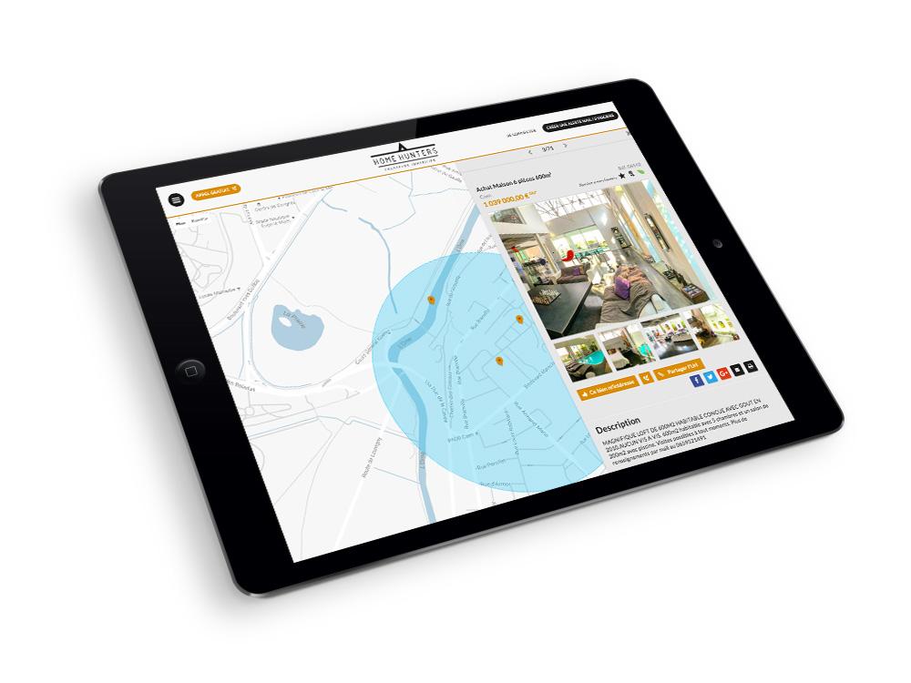 HomeHunters-site-internet-responsive-tablette-mobile-bordeaux